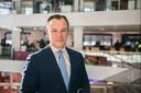 Klaas Verschuure (D66), wethouder voor het mbo in Utrecht.