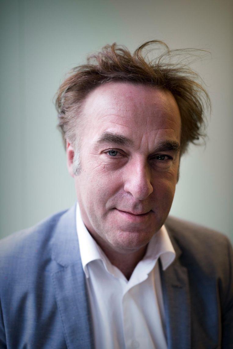 Dick Veluwenkamp, bestuurder van ggz-stichting Arkin: 'Als mensen de kliniek niet verlaten door gebrek aan geschikte woningen, kunnen we minder mensen opnemen' Beeld Rink Hof