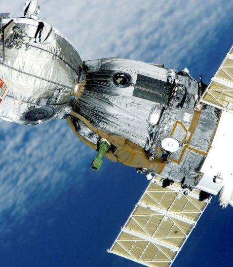 La chute d'un satellite espion russe filmée dans le ciel du Michigan