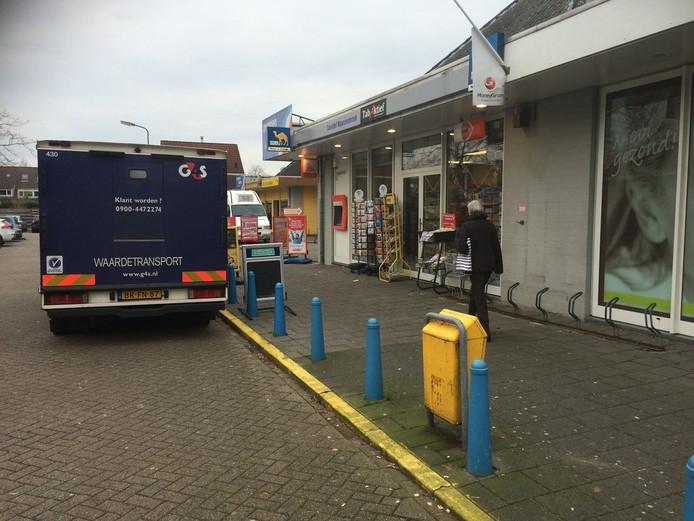 De betreffende automaat in Maarssen die destijds werd leeg gehaald na een plofkraak.