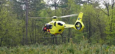 Mountainbiker zwaargewond bij val in bossen bij Dorst