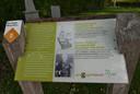 Het graf van 'oom Jan' in Helvoirt.