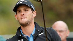 """Thomas Pieters aast op top acht in British Open: """"Hij zit weer lekker in zijn vel"""""""