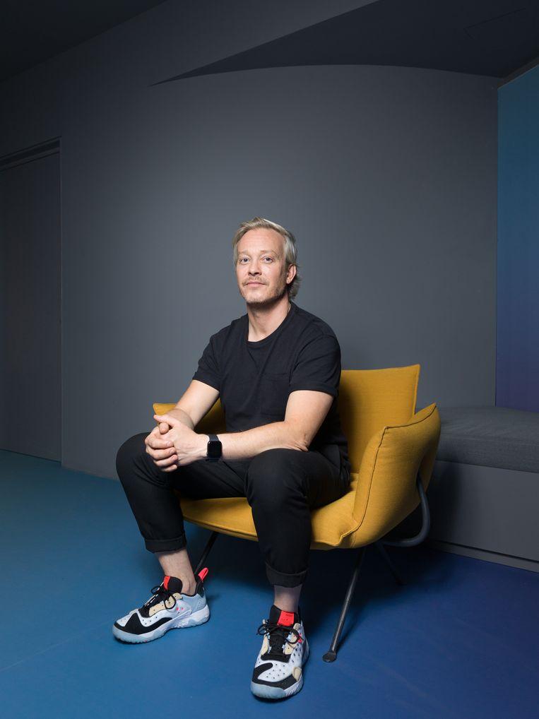 Claes Iversen: 'Na het Songfestival heb ik aanvragen uit Duitsland gekregen voor de petroljurk. Dat is natuurlijk leuk.'  Beeld Ivo van der Bent