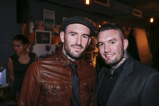 Jamie met broer Ben Saunders.