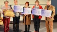 Warme kerst in hogeschool Odisee: 400 cadeau's voor Welzijnsschakels en 3.000 euro voor goede doelen