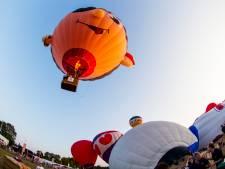 LTO: 'Boeren moeten vergoeding krijgen voor ballonlandingen' na ruzie in weiland Bokhoven