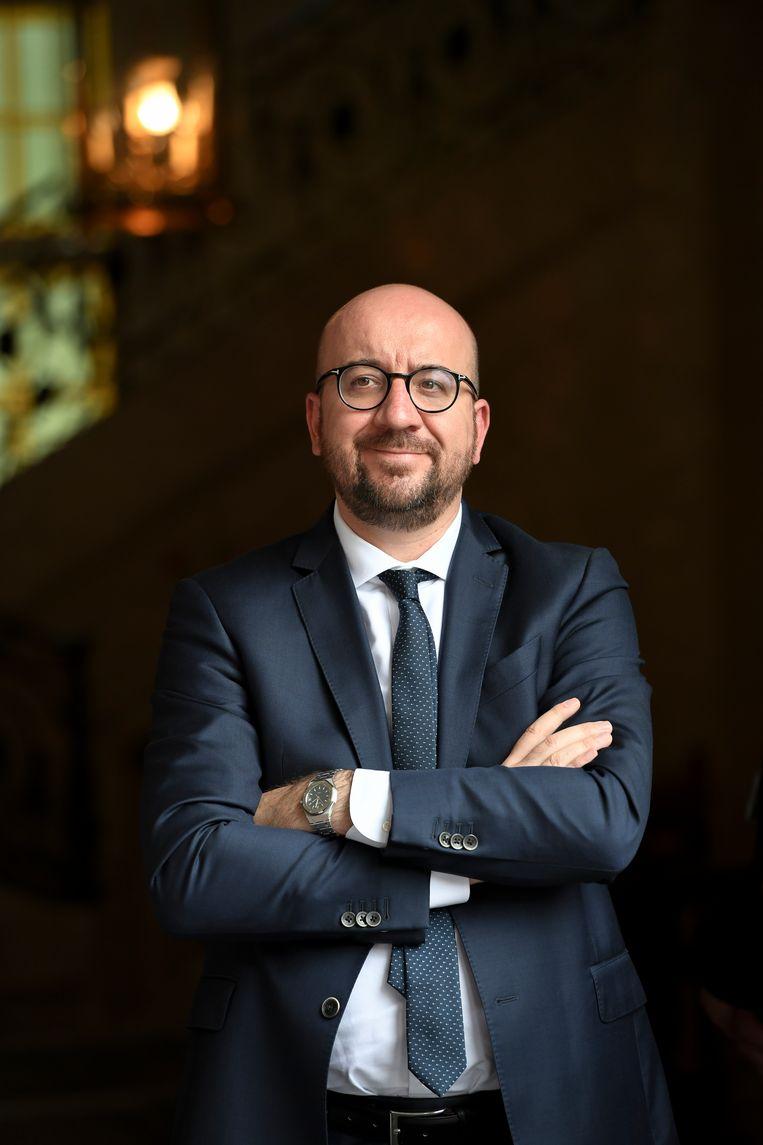 Premier Michel riep dit weekend op tot kalmte. Beeld BELGA