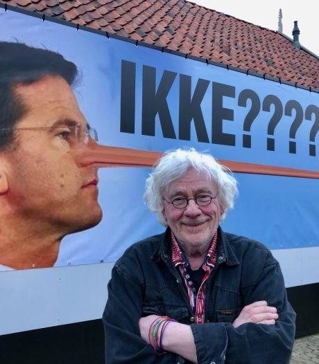 Kunstenaar maakt statement met Rutte als Pinokkio: 'Hij stond daar gewoon permanent te liegen!'