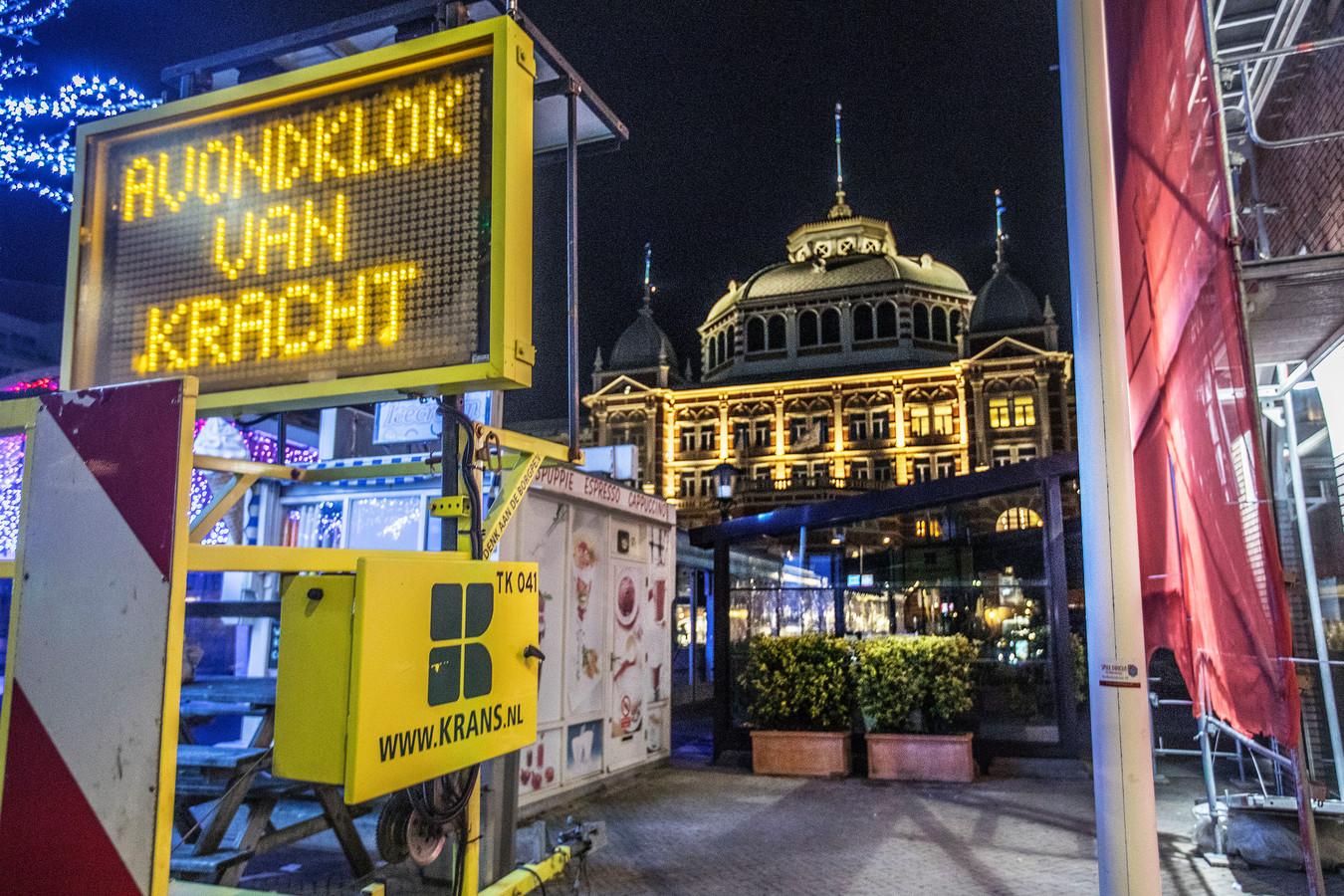 Beeld ter illustratie: avondklok in Scheveningen.