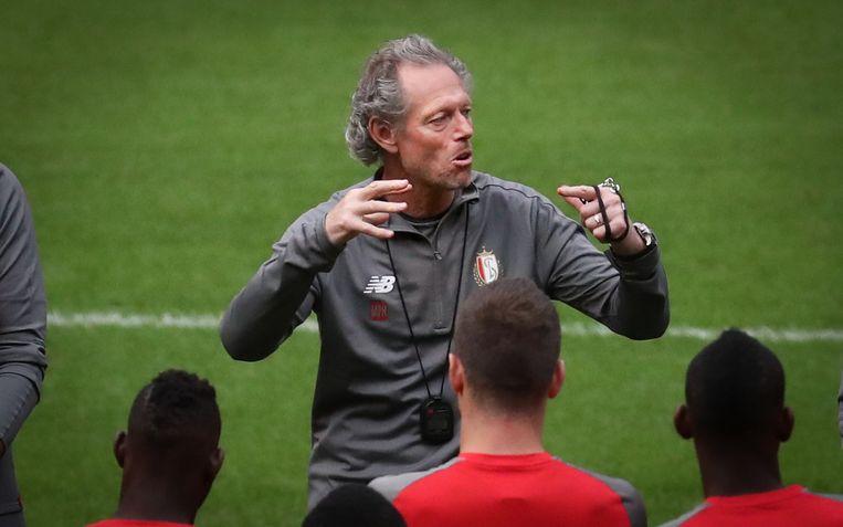 Trainer van Standard, Michel Preud'homme. Beeld BELGA