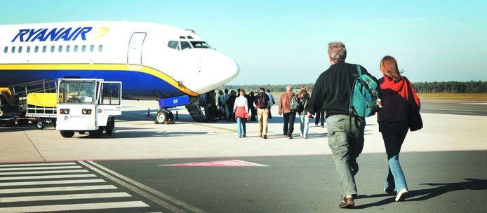 Airport Weeze: 40 procent van de passagiers komt uit Nederland.