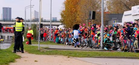 In Eindhoven is de streep door Zwarte Piet er een met potlood
