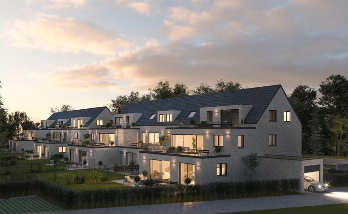Groep Bolckmans uit Brecht bouwt in Lille 22 appartementen en past daar ook geothermie toe wat redelijk uniek is voor kleine projecten.