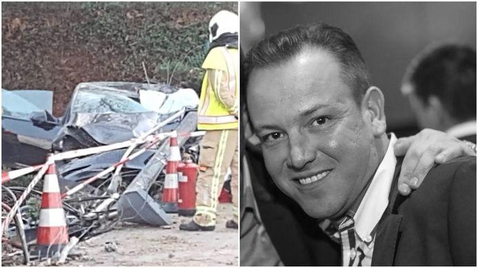 Gregory Huyghe (41) overleefde een ongeval met zijn nieuwe Tesla in Roeselare niet.