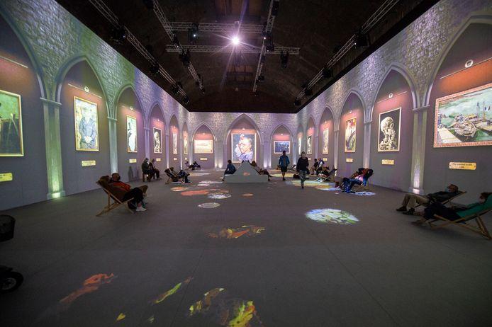 De Vincent Van Gogh-tentoonstelling in de Waagnatie.
