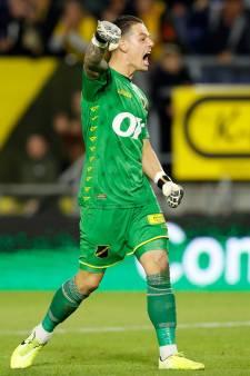 Lof voor Nick Olij: NAC-doelman ontvangt nominatie voor verkiezing beste keeper van de eerste periode