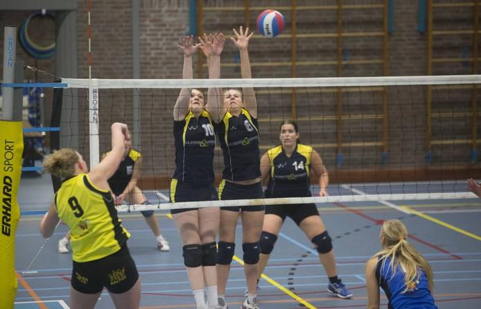De vrouwen van VCV. Foto: Herman Stöver