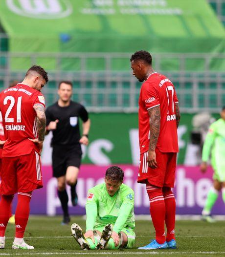 Scorende Weghorst heeft Makaay in het vizier, maar verliest met Wolfsburg wel van Bayern