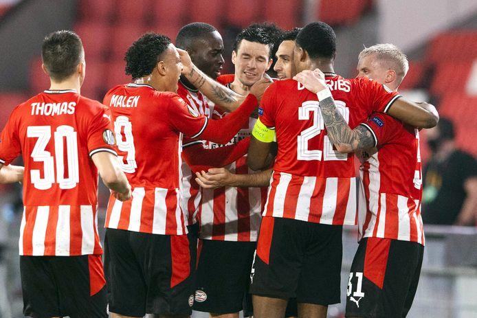 PSV moet drie voorrondes overleven om komend seizoen in het hoofdtoernooi van de Champions League te komen.