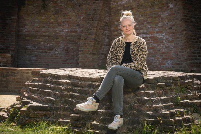 Katrin Ebbert in het Wageningse Torckpark.