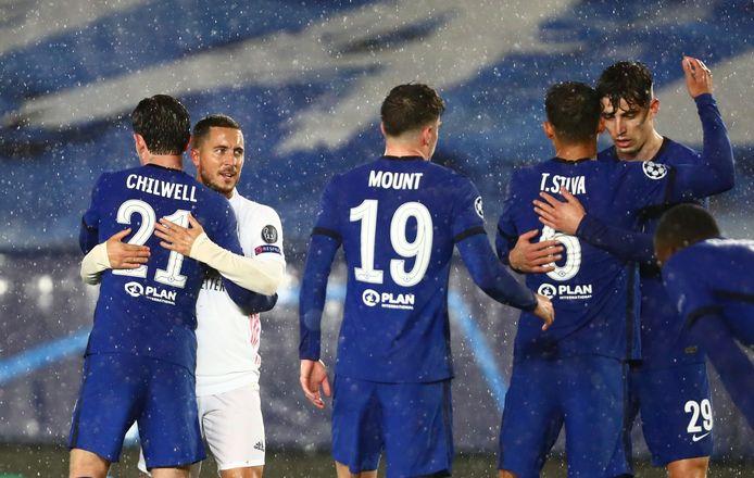 Pas de vainqueur dans la manche aller: Chelsea et le Real se départageront au match retour.