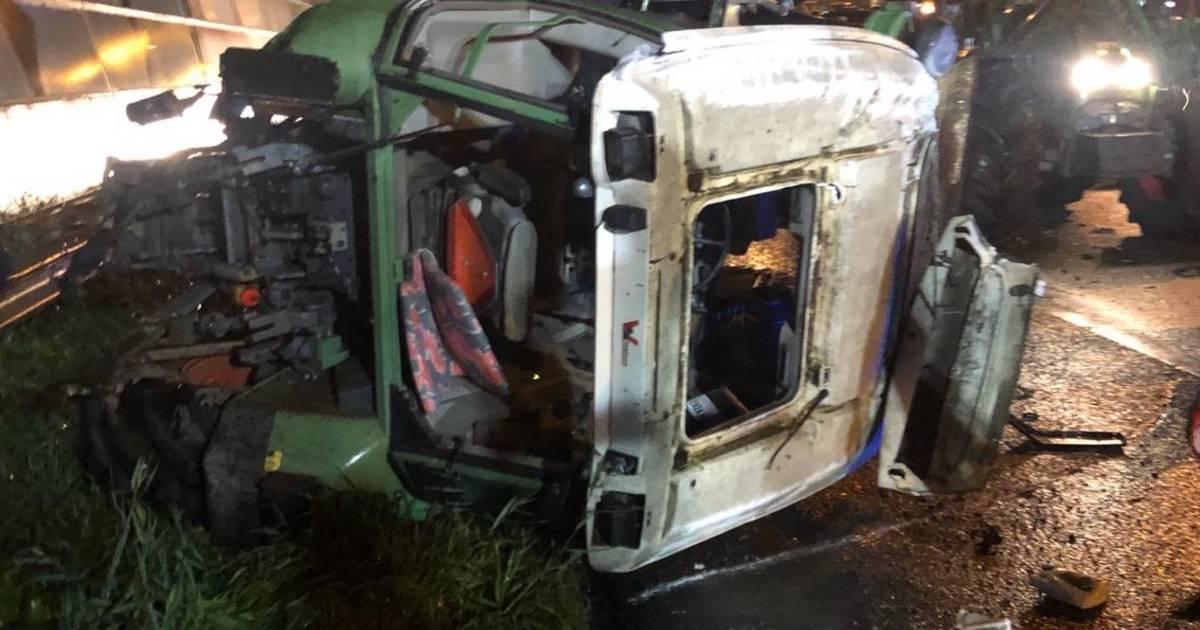 Weerselose boeren over ongeluk met trekker: 'We konden er niets aan doen'.