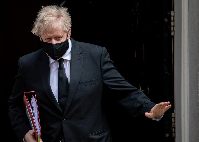 Boris Johnson Beeld Getty Images