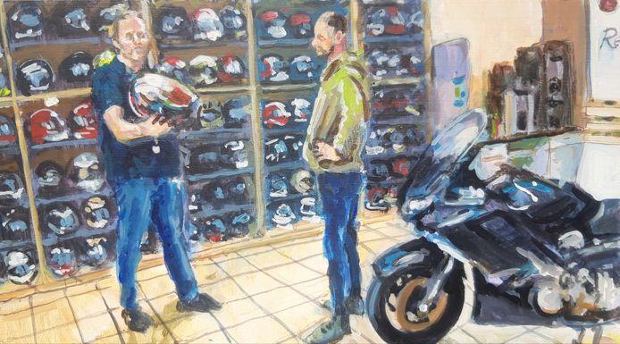 Termaat Motoren heeft niet alleen motoren, maar ook veel kleding en helmen.