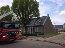 Uitslaande brand in woning Hulst