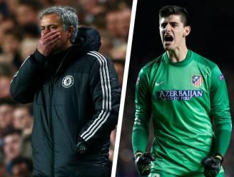 """De gewéldige match van Courtois tegen Chelsea: eerst straal genegeerd door Mourinho, nadien diens kwelduivel met """"onmogelijke save"""""""