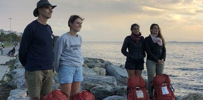 """Christophe et Claire et Rose-Marie et Cinzia se sont disputés la finale de la quatorzième saison de """"Pékin Express"""" diffusée ce vendredi soir sur Club RTL."""