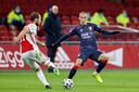 Cerny in actie tegen Ajax dit seizoen.