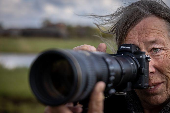Kalenberger Susan Oosterlaar is actief als de 'Weerribbenfotograaf'.