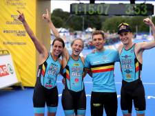 Triathlon: le relais mixte belge qualifié pour les Jeux