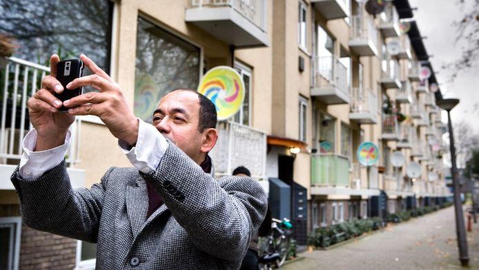 Wethouder Freek Ossel wil op eigen wijze de woningmarkt vlot trekken.
