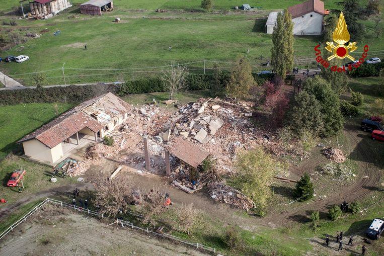 Nadat een kleine brand ontstond, verzweeg de eigenaar dat meerdere gasflessen tot ontploffing zouden komen.