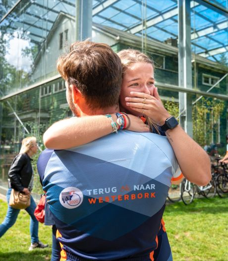 Cenzy (18) uit Waalre maakte indrukwekkende fietstocht om verhalen achter WOII niet te vergeten