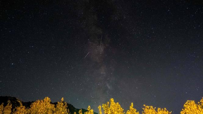 Komende weken veel vallende sterren te zien