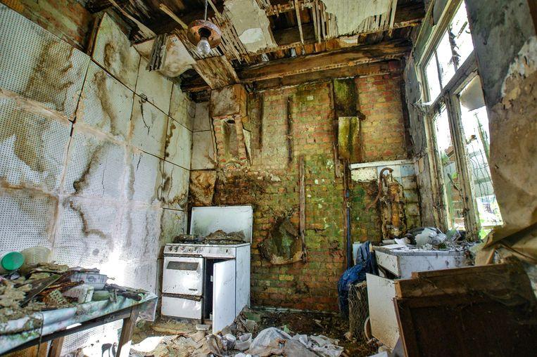 'Hier woont alleen de tijd', fotoboek van Maarten en Billie Slagboom. Beeld Maarten en Billie Slagboom