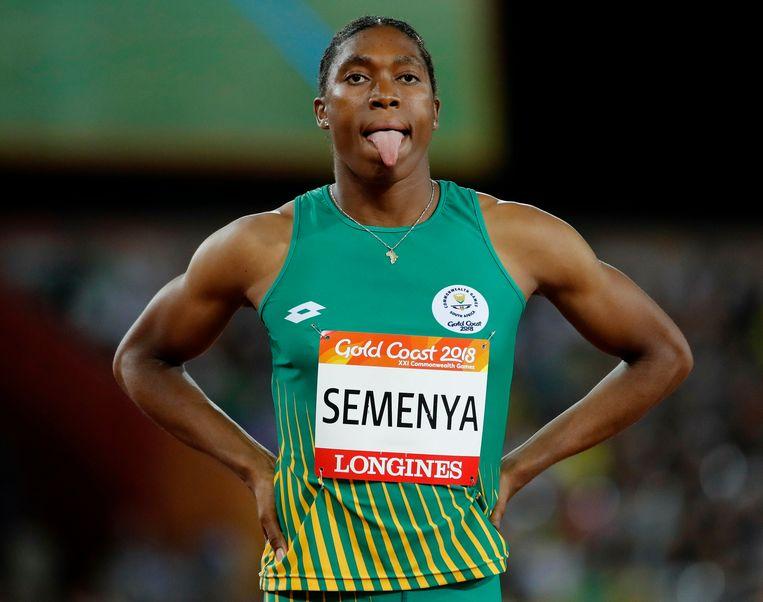 Caster Semenya geeft zich nog niet gewonnen. Beeld AP