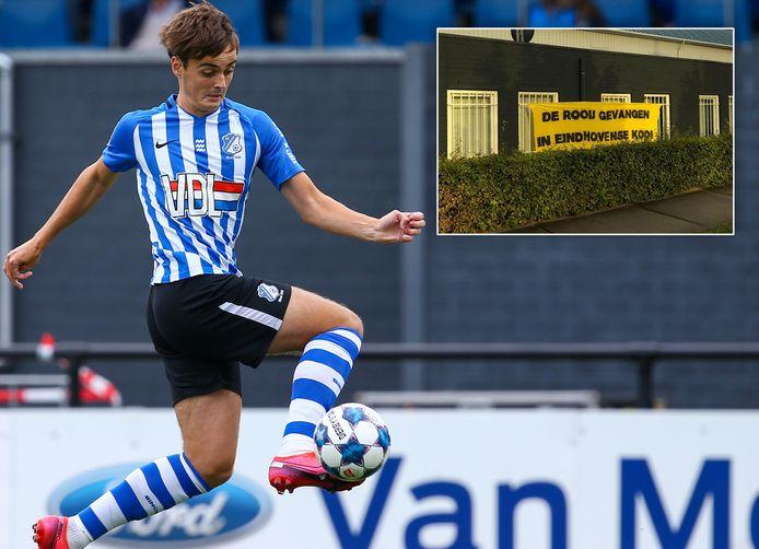 Kaj de Rooij, nu nog speler van FC Eindhoven. Maar voor hoe lang nog?