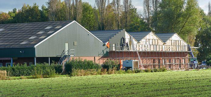 Champignonbedrijf Voet in Veghel kreeg toestemming voor het huisvesten van 96 woonplekken voor arbeidsmigranten.