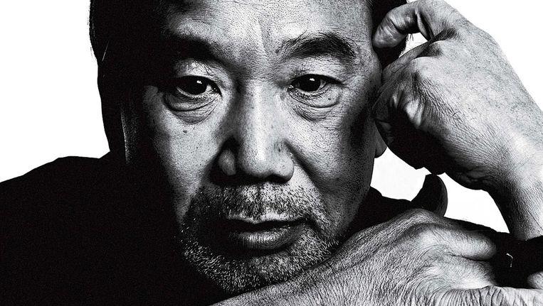 Haruki Murakami: 'Ik ben door tal van uitstekende schrijvers beïnvloed. Ik heb heel wat van hen opgestoken en ze hebben me ook de nodige moed gegeven.' Beeld Markus Jans
