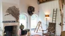 fotoreeks over Binnenkijken in een landhuis met een romantische ziel