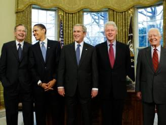 "Alle vijf nog levende Amerikaanse ex-presidenten doen oproep na Harvey: ""Help getroffen landgenoten"""