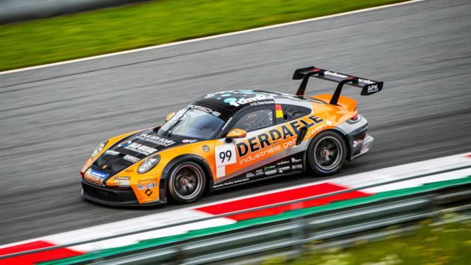 Derdaele kent een moeilijk weekend in de Porsche Carrera Cup Benelux op de F1-omloop Red Bull Ring