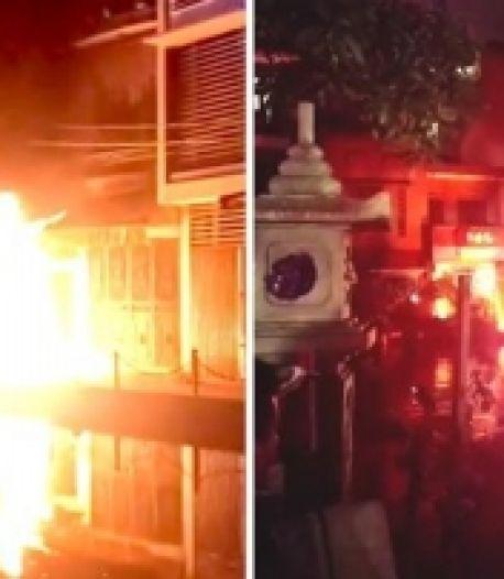 La soirée karaoké de son voisin l'énerve, il lance des cocktails Molotov depuis son balcon
