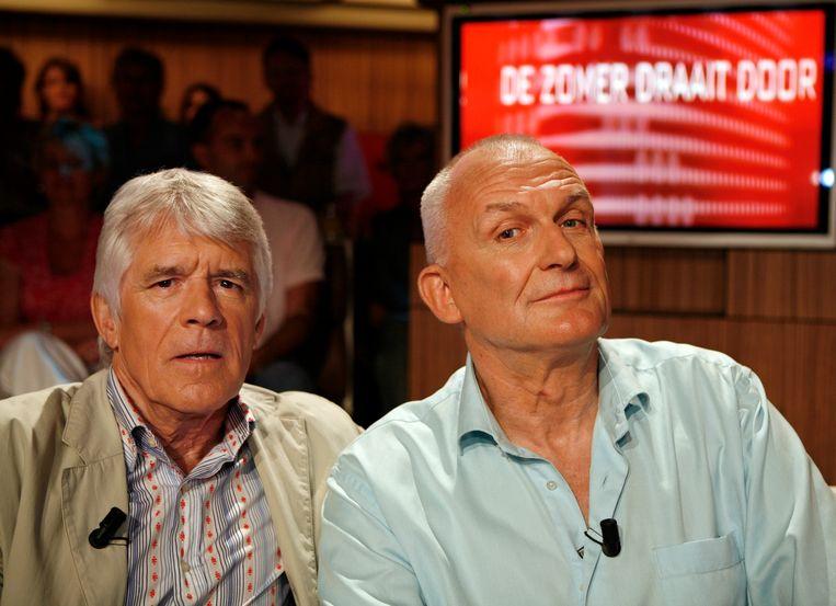 Kees van Kooten en Wim de Bie. Beeld ANP Kippa
