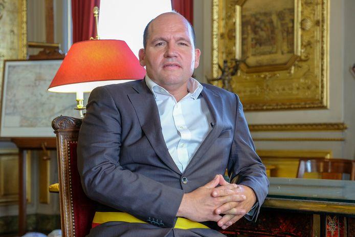 Burgemeester Philippe Close (PS).